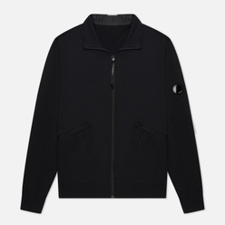 Мужская толстовка C.P. Company Pocket Lens Full-Zip Light Feece Black