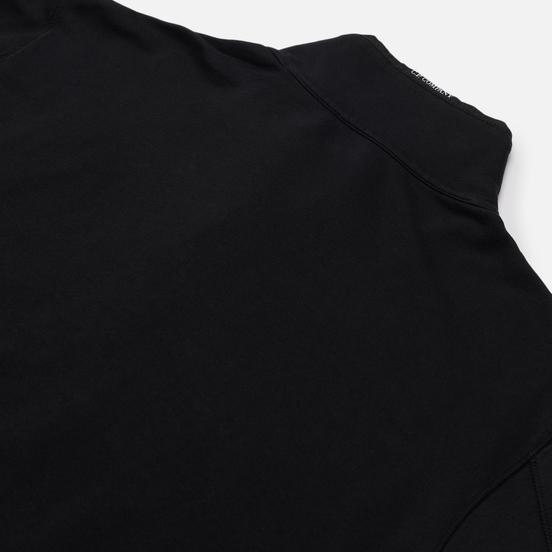 Мужская толстовка C.P. Company Pocket Lens Full-Zip Light Feece Black