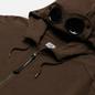 Мужская толстовка C.P. Company Goggle Full Zip Hoodie Diagonal Raised Fleece Ivy Green фото - 1