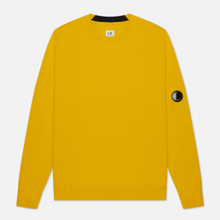 Мужская толстовка C.P. Company Lens Pocket Diagonal Raised Fleece Golden Yellow