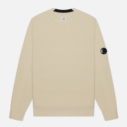 Мужская толстовка C.P. Company Lens Pocket Diagonal Raised Fleece Oyster Grey