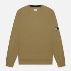 Мужская толстовка C.P. Company Lens Pocket Diagonal Raised Fleece Martini Olive