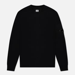 Мужская толстовка C.P. Company Lens Pocket Diagonal Raised Fleece Black