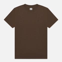 Мужская футболка C.P. Company Goggle Hood Print Jersey 30/1 Ivy Green