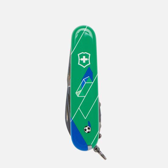 Карманный нож Victorinox Spartan Football Of Russia Green