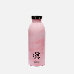 Бутылка 24Bottles Clima Medium Marble Pink