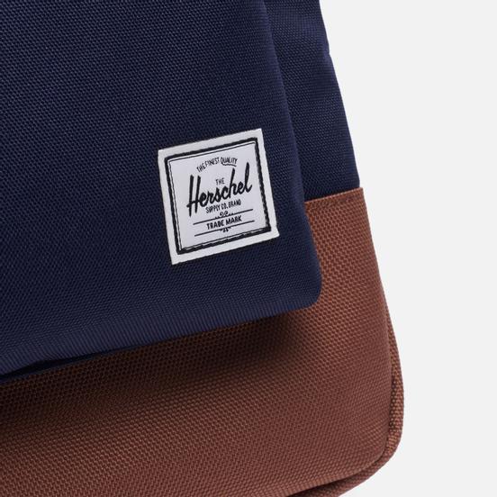 Рюкзак Herschel Supply Co. Heritage Peacoat/Saddle Brown