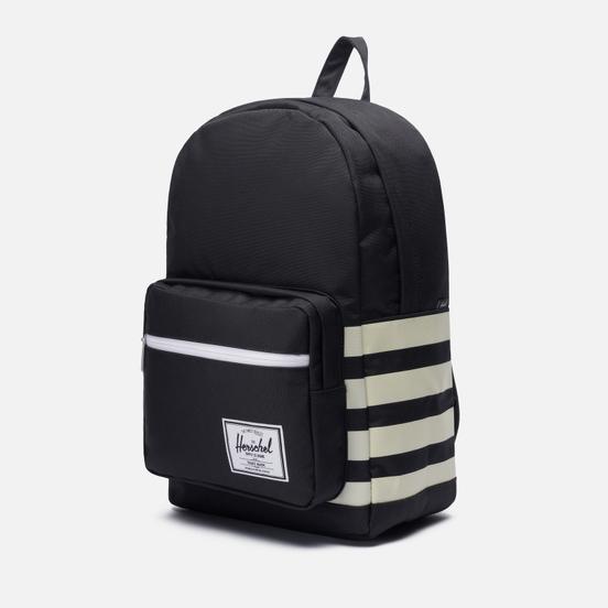 Рюкзак Herschel Supply Co. Pop Quiz Black/Birch Stripe