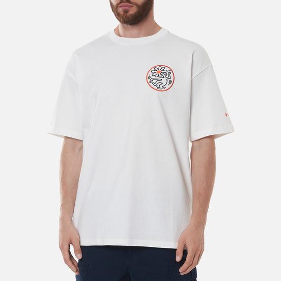 Мужская футболка Converse x Keith Haring Elevated Graphic White
