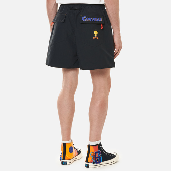 Мужские шорты Converse x Space Jam A New Legacy Black