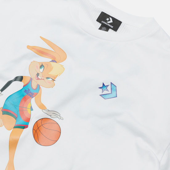 Женская футболка Converse x Space Jam A New Legacy White