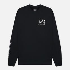 Мужская толстовка Converse x Basquiat Fleece Crew Black
