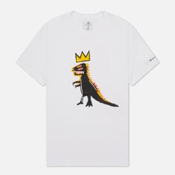 Мужская футболка Converse x Basquiat Graphic White