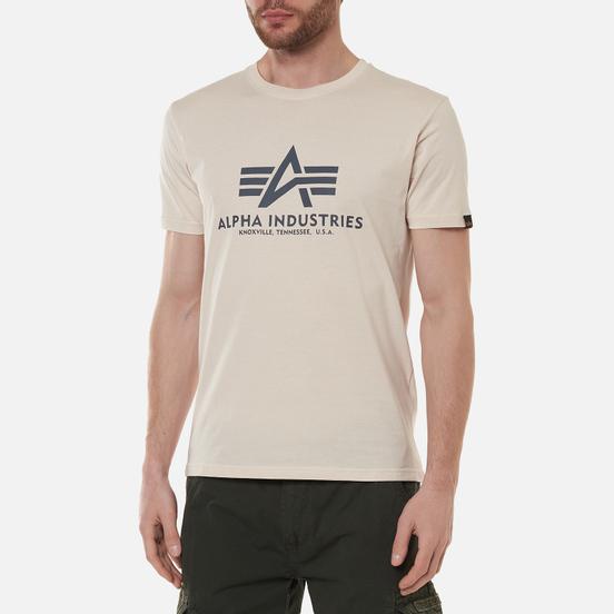Мужская футболка Alpha Industries Basic Jet Stream