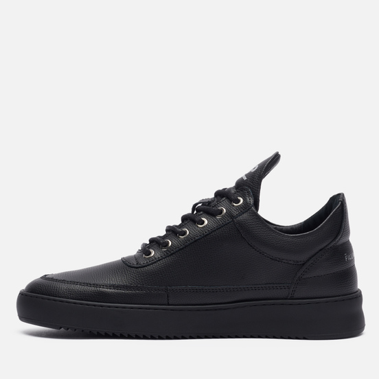 Кроссовки Filling Pieces Low Top Ripple Crumbs All Black