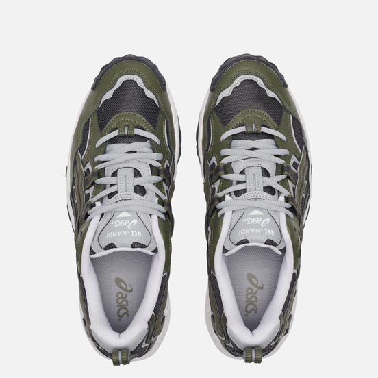 Мужские кроссовки ASICS Gel-Nandi Graphite Grey/Mantle Green