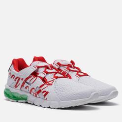 Мужские кроссовки ASICS x Coca-Cola Gel-Quantum 90 Tokyo White/Coke Red