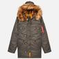 Мужская куртка парка Alpha Industries N3B VF 59 Replica Grey фото - 0
