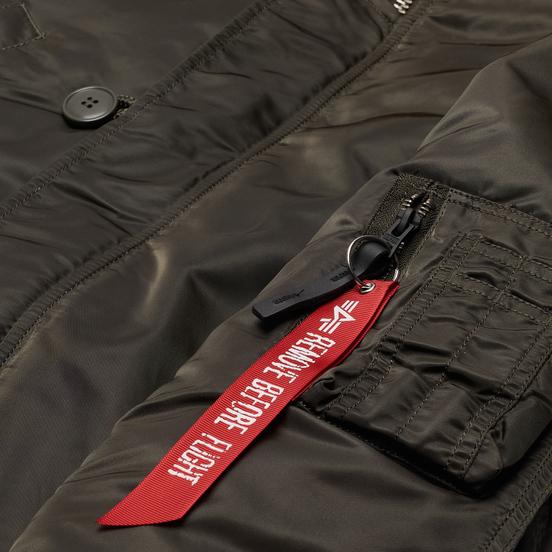 Мужская куртка парка Alpha Industries N3B VF 59 Replica Grey