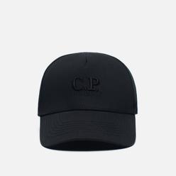 Кепка C.P. Company Gabardine Classic Logo Baseball Black