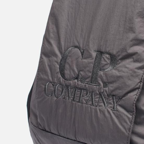 Рюкзак C.P. Company Nylon Rubbered Garment Dyed Logo Gargoyle
