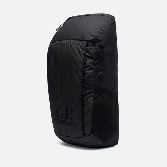 Рюкзак C.P. Company Nylon Rubbered Garment Dyed Logo Black