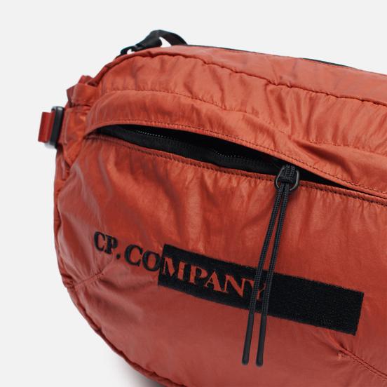 Сумка на пояс C.P. Company Nylon Coated Garment Dyed Crossbody Burnt Ochre