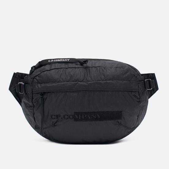 Сумка на пояс C.P. Company Nylon Coated Garment Dyed Crossbody Black