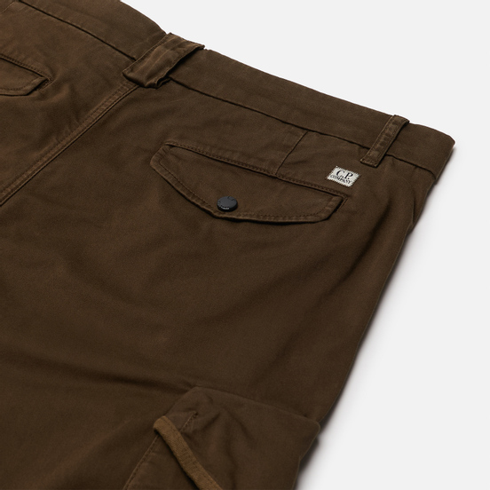 Мужские брюки C.P. Company Stretch Sateen Garment Dyed Lens Utility Ivy Green