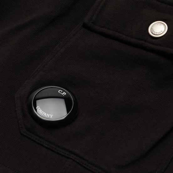 Мужские шорты C.P. Company Open End Fleece Garment Dyed Lens Black