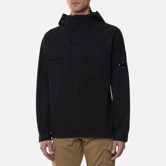 Мужская рубашка C.P. Company Gabardine Garment Dyed Hooded Lens Black