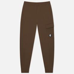 Мужские брюки C.P. Company Diagonal Raised Fleece Lens Track Ivy Green