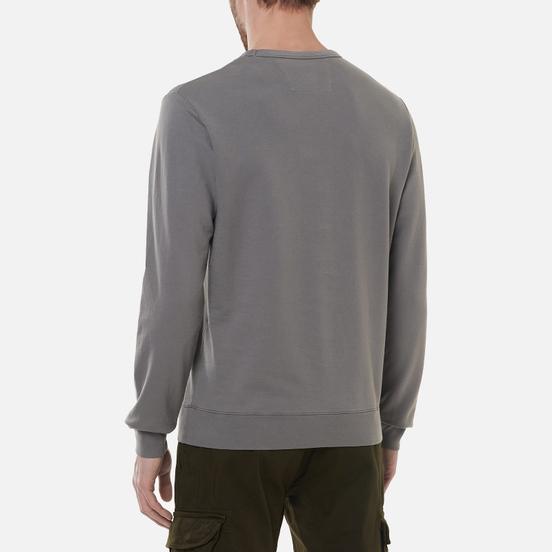 Мужская толстовка C.P. Company Light Fleece Mixed Garment Dyed Chest Logo Gargoyle