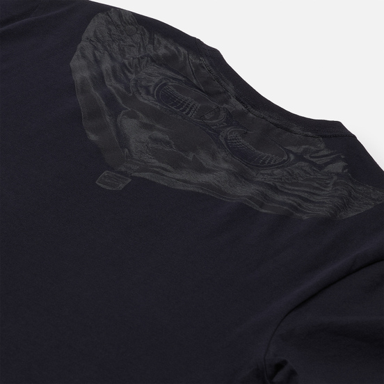 Мужская футболка C.P. Company Goggle Graphic Total Eclipse