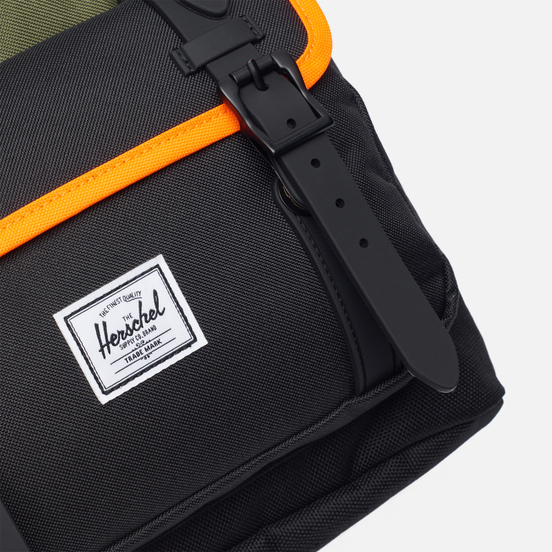 Рюкзак Herschel Supply Co. Little America Pro Ivy Green/Black/Shocking Orange