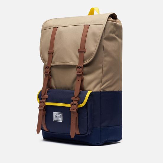 Рюкзак Herschel Supply Co. Little America Pro Kelp/Peacoat/Cyber Yellow/Saddle