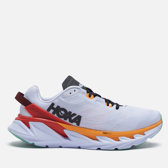 Мужские кроссовки Hoka One One Elevon 2 White/Blazing Orange
