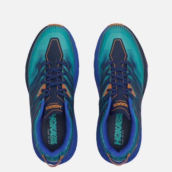 Мужские кроссовки Hoka One One Speedgoat 4 Atlantis/Dazzling Blue