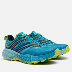 Женские кроссовки Hoka One One Speedgoat 4 Capri Breeze/Angel Blue