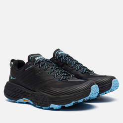 Женские кроссовки Hoka One One Speedgoat 4 Gore-Tex Anthracite/Dark Gull Grey