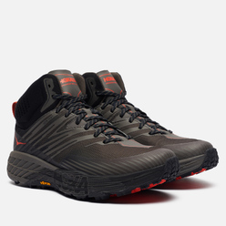 Мужские кроссовки Hoka One One Speedgoat Mid 2 Gore-Tex Anthracite/Dark Gull Grey