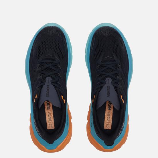 Мужские кроссовки Hoka One One Clifton EDGE Black/Aquarelle
