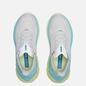 Женские кроссовки Hoka One One Clifton EDGE Blanc De Blanc/Blue Tint фото - 1