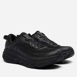 Мужские кроссовки Hoka One One Bondi 7 Black/Black
