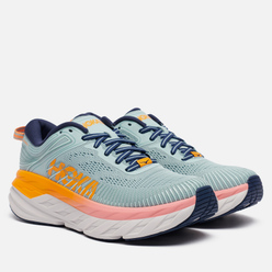 Женские кроссовки Hoka One One Bondi 7 Blue Haze/Black Iris