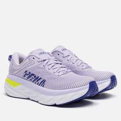 Женские кроссовки Hoka One One Bondi 7 Purple Heather/Clematis Blue