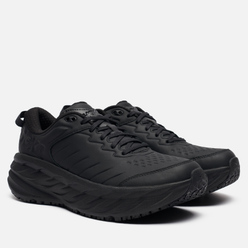 Мужские кроссовки Hoka One One Bondi Slip Resistant Black/Black