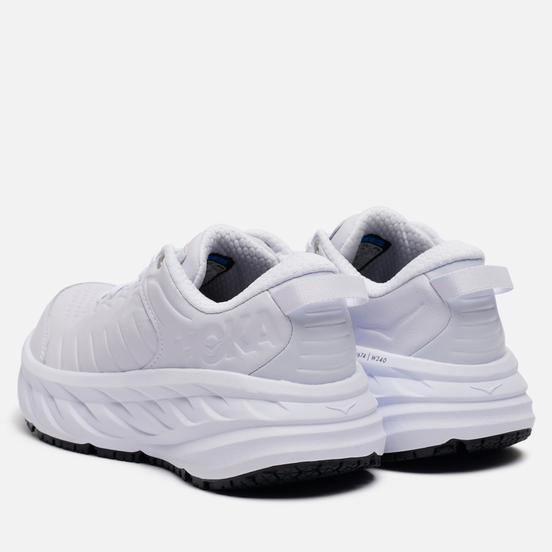 Женские кроссовки Hoka One One Bondi Slip Resistant White