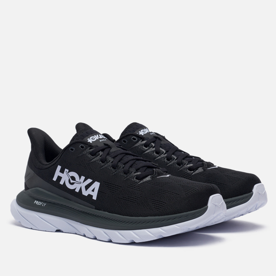 Мужские кроссовки Hoka One One Mach 4 Black/Dark Shadow