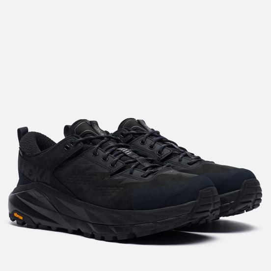 Мужские кроссовки Hoka One One Kaha Low Gore-Tex Black/Charcoal Gray